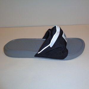 Nike BENASSI JDI FANNY PACK Black Grey New Sandals